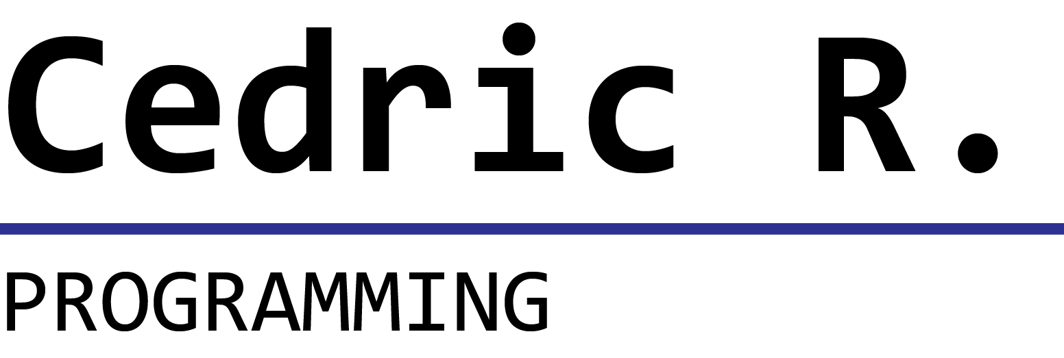 Cedric R. Logo